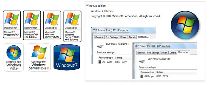 Parallel card support Windows